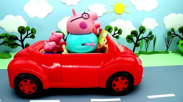 小猪佩奇使用望远镜,小猪佩奇定格动画
