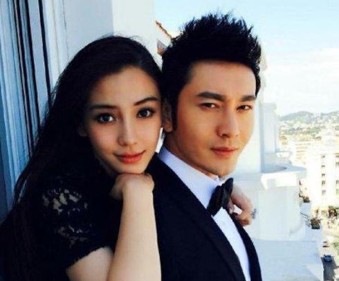 熊黛林挽手丈夫逛街,baby黄晓明却非常少合照,还屡传婚变