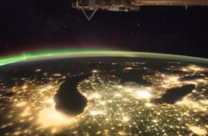 美国与中国的差距在哪?看夜景灯光卫星图,答案一目了然