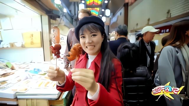 日本京都锦市场,几百家店铺啥都有,吃货必去之地
