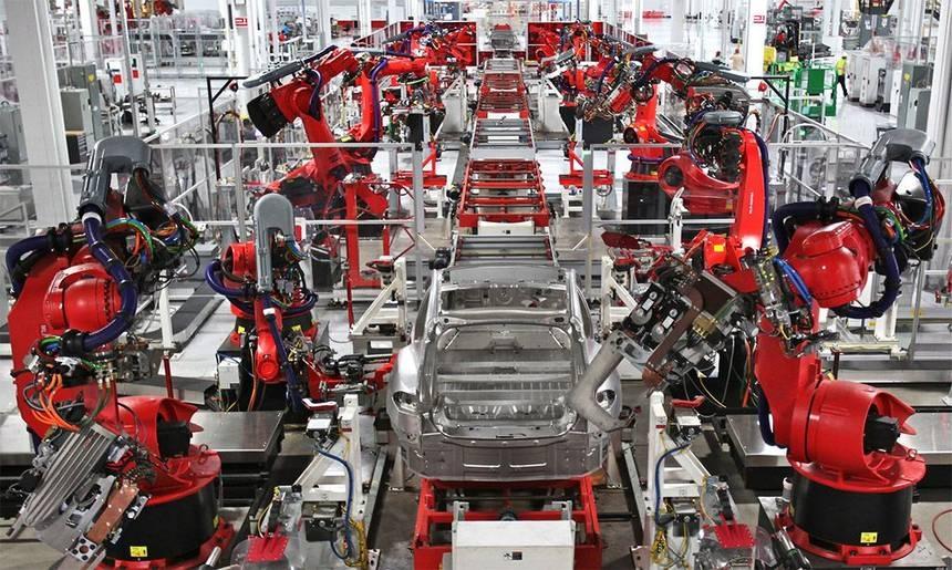 """看准中国市场有钱赚特斯拉投资20亿美元启动中国""""超级工厂""""_大"""