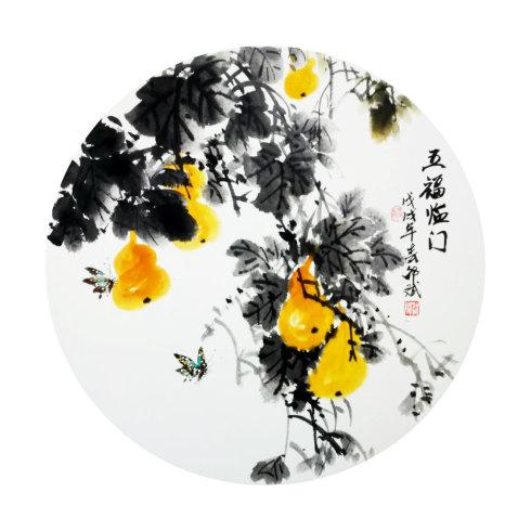 写意花鸟画专栏:当代国画名家邵斌写意作品欣赏