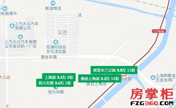 西与江苏省昆山市花桥镇相邻;南隔沪宁高速公路与青浦区白鹤镇连接;北
