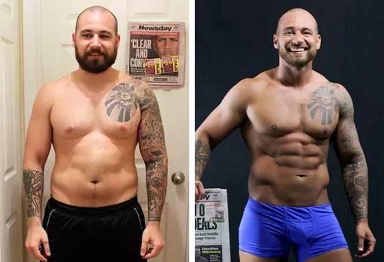 一张图对应你,男性不同体脂率告诉的身材每天五十个仰卧起坐肚子会瘦吗图片