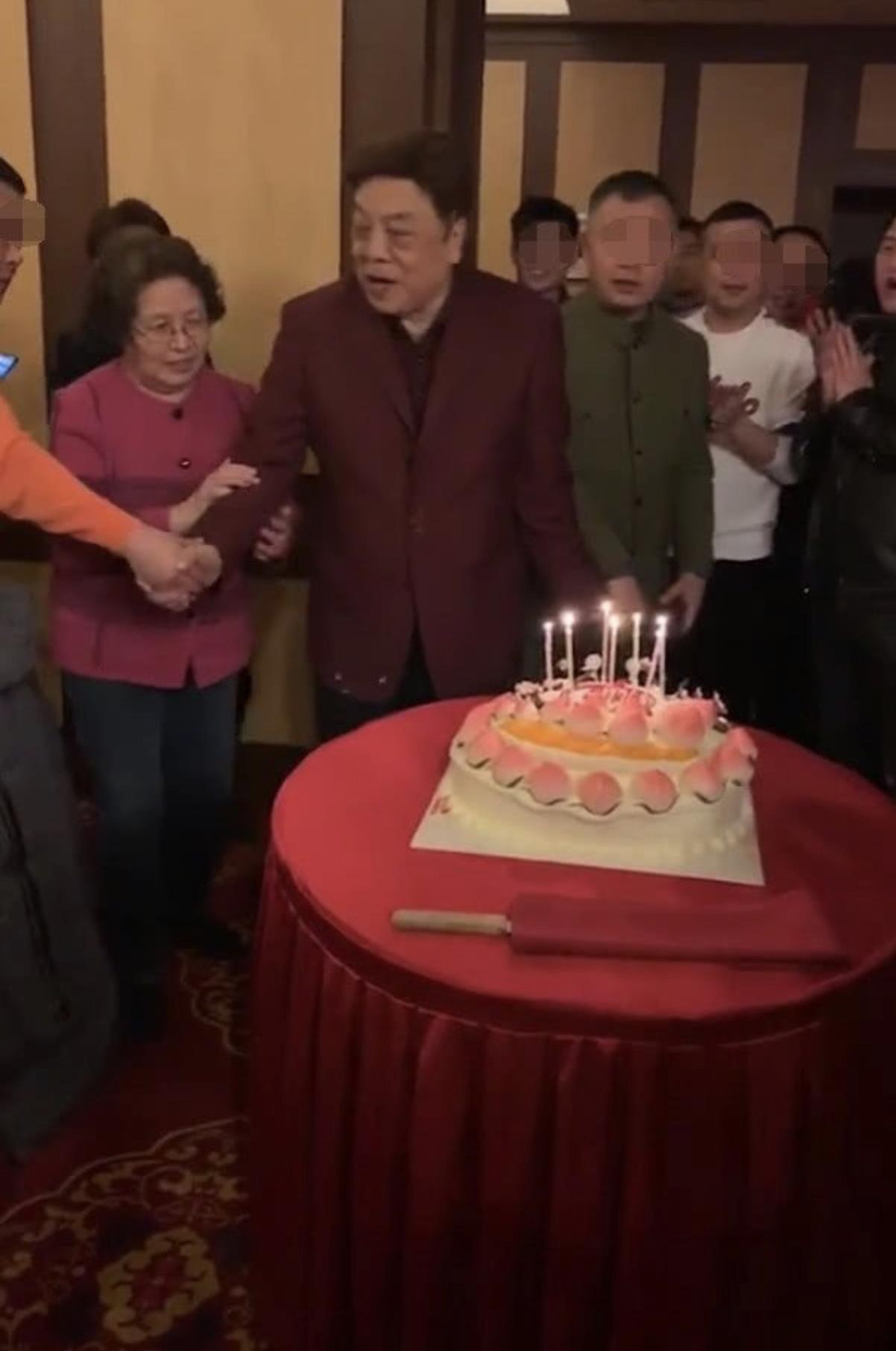 赵忠祥生日会曝光,赵忠祥生日是哪天?