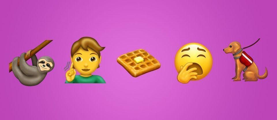 2019年emoji最终列表确认 即将登陆iOS 13