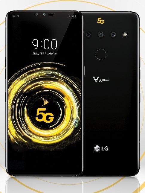 lg v50 thinq曝光:支持5g 与g8 thinq同步亮相-共享