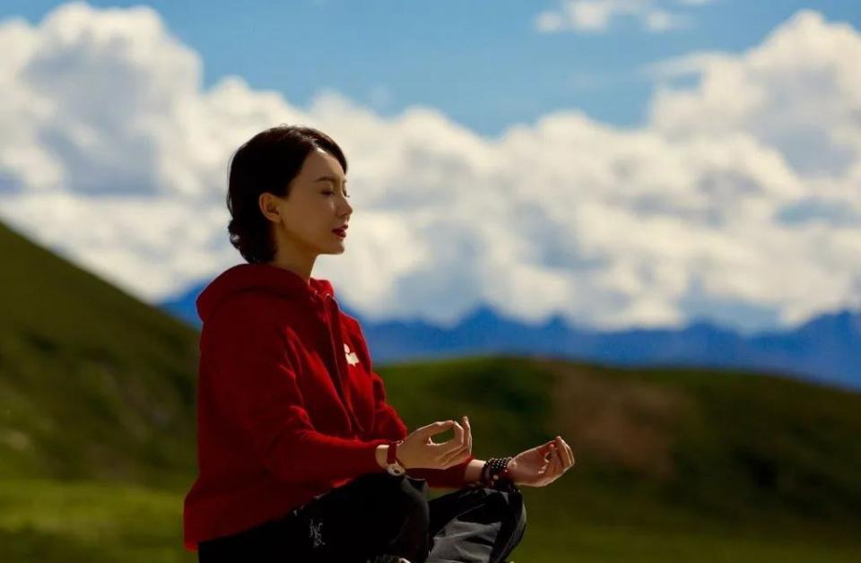 41岁陈数女人告白,视频:这是瑜伽最高级的网友上面试图片