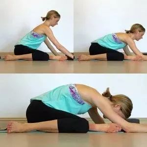 前屈摸不到脚尖?一套拉伸全身的阴瑜伽序列,越练越年轻!图片