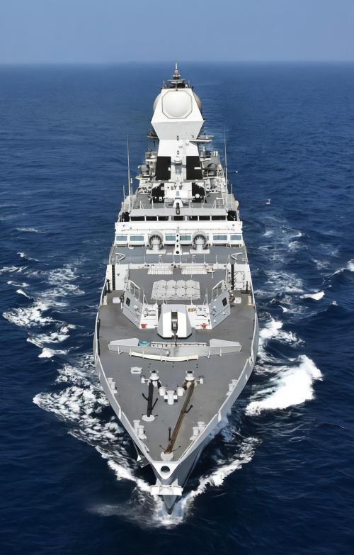 中国海军70周年大庆至少四国神盾舰聚会