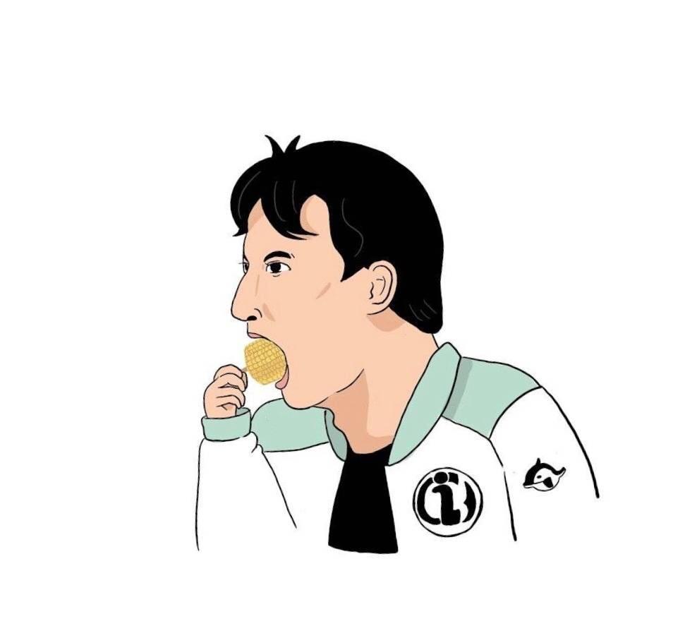 王思聪吃表情,新的表情又要诞生了!信图田螺玉米包微煲图片