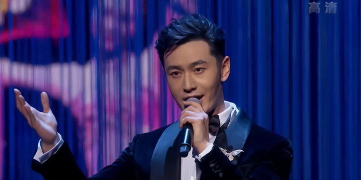 北影节颁奖礼星光熠熠 黄晓明伊丽媛合唱一曲《龙文》