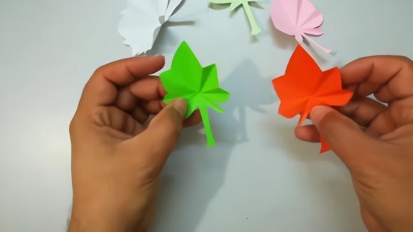 手工折纸花朵步骤图 图解
