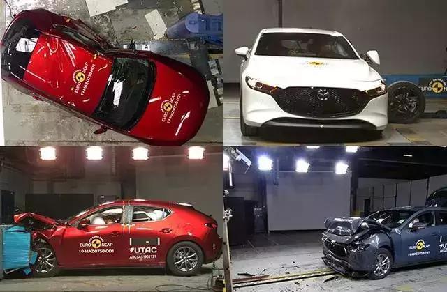 全新马3、全新卡罗拉等碰撞测试成绩出炉,你还说日系车不安全?