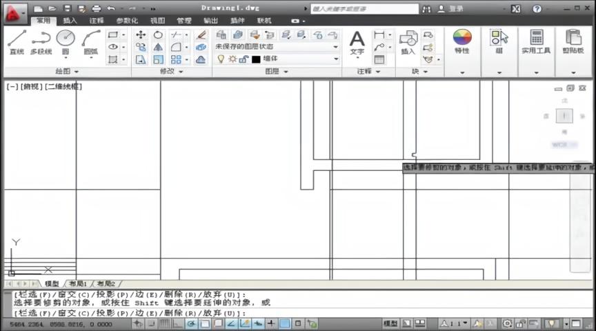用cad绘制施工图门和图纸积木星钻82001窗户图片