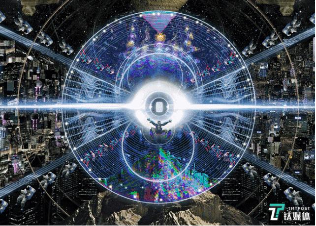 机械卷轴为《三体艺术插画集》创作的作品《降纬打击》