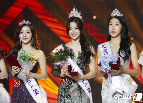 2019韩国小姐选美大赛冠亚季军出炉!亚军这脸我没看错吧?