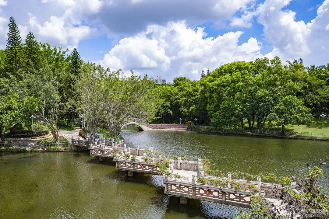 """深圳版""""天空之镜_"""",藏在这座五星级公园里"""