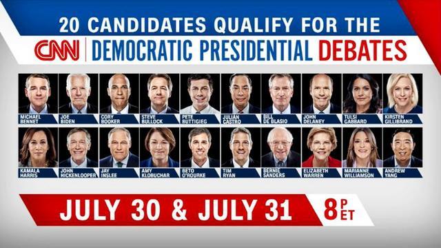 """""""驴""""死谁手?第二场电视辩论,美国民主党群雄如何突围?"""