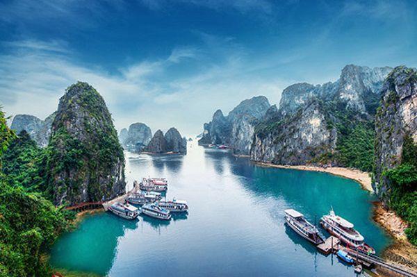 """越南下龙湾""""海上桂林""""之旅,精华景点一网打尽,让你"""