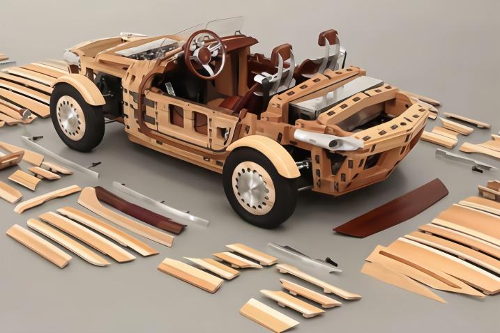 """日本人脑洞大开,用""""木头""""来造汽车,不怕烧起来吗?"""