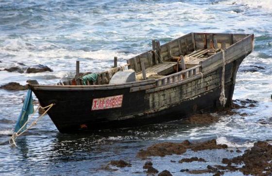 一年内有225艘不明船只漂到日本12具尸体成谜