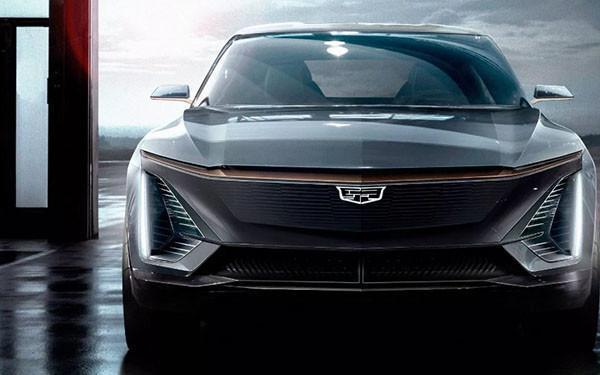 近日通用汽车终于曝光凯迪拉克首款全电动汽车照片