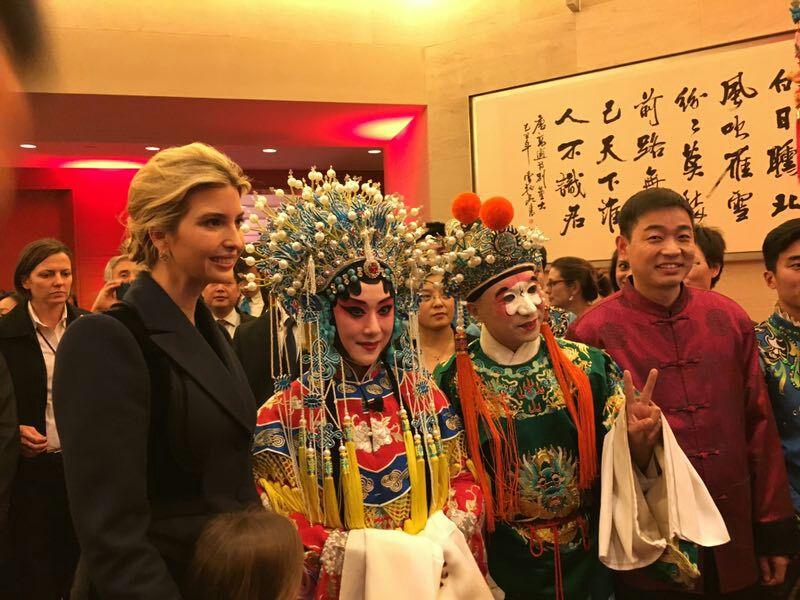 特朗普女儿抢先在推特用中文送祝福:新年快乐