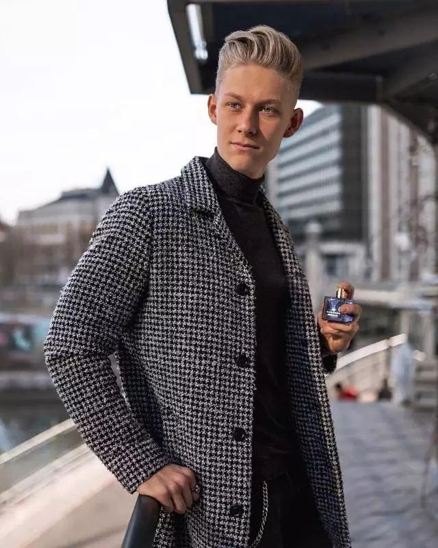 维度嘉人网 热点:非常会穿衣的帅气男神,穿衣风格简单易学
