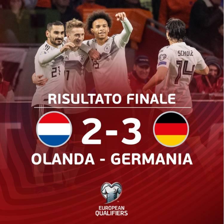 读秒绝杀!德国成功复仇荷兰 创23年纪录