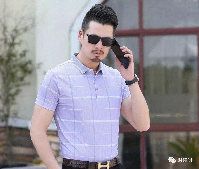 洋气舒适的男短袖T,有型特显身体,彰显潮流品尝帅气身姿