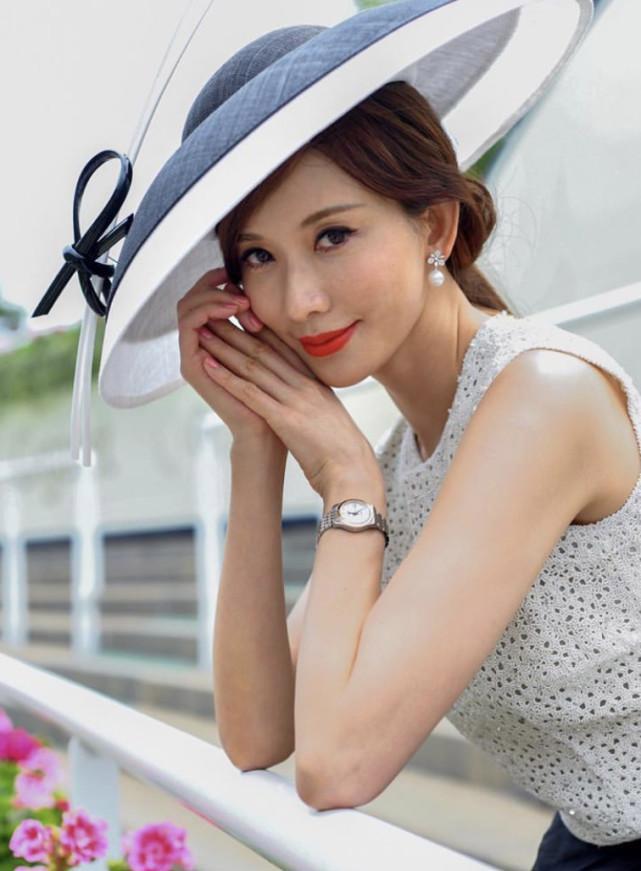 林志玲婚后首亮相 夫妻生活,脸色红润贵妇范十足