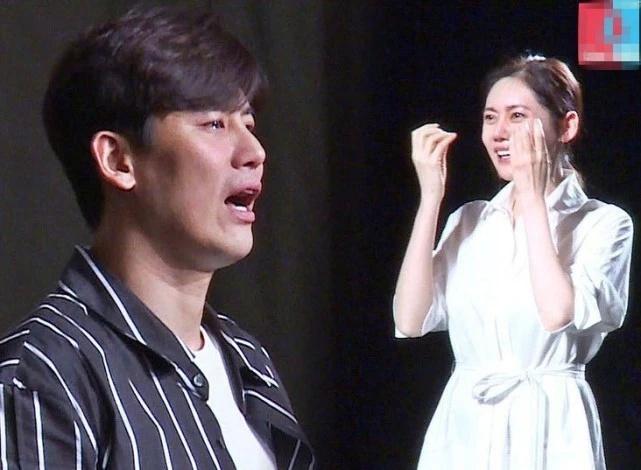 于晓光秋瓷炫公开儿子中文名,婚礼花絮曝光哭成泪人