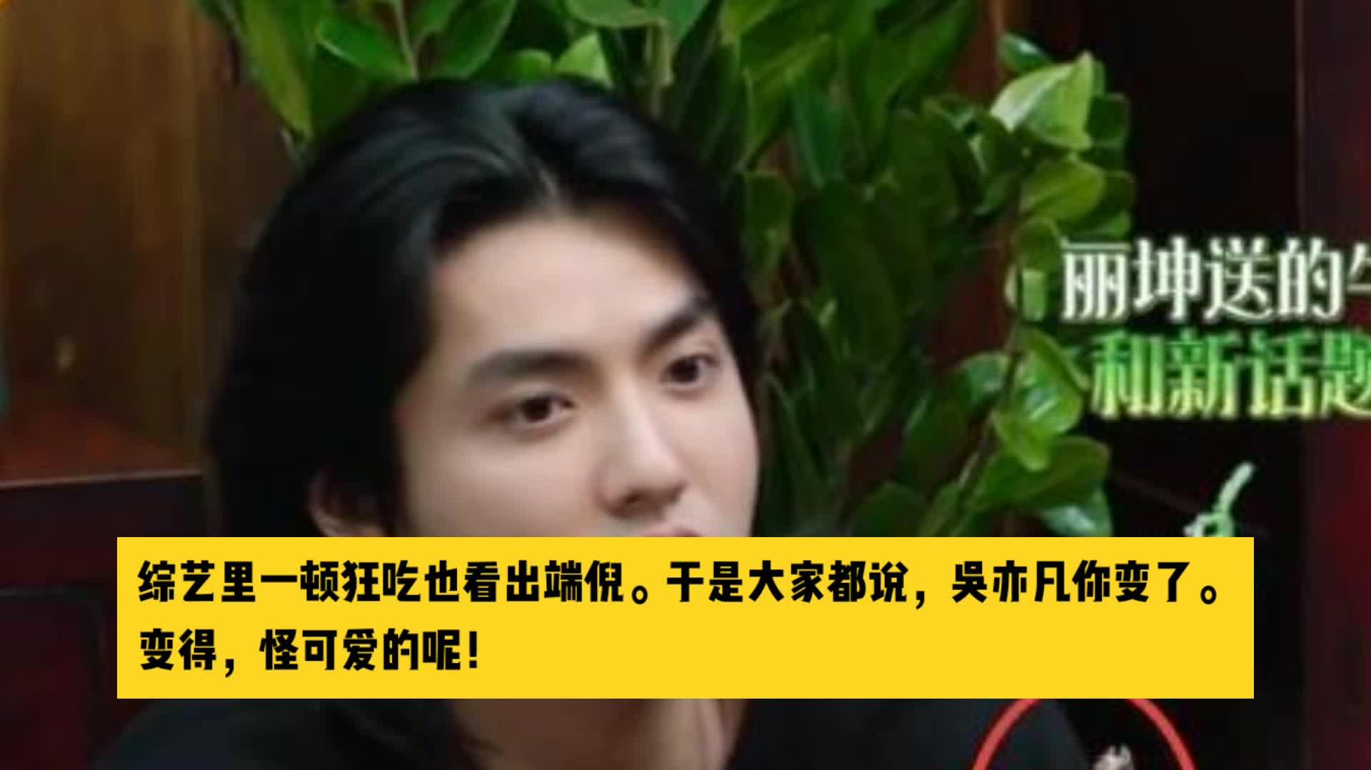 承认年纪大了难逃一胖的吴亦凡,胖出了一部流量明星转型史