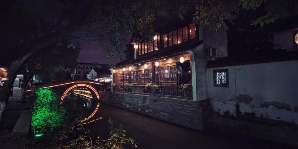人说江南风景好实则江南的夜色更好