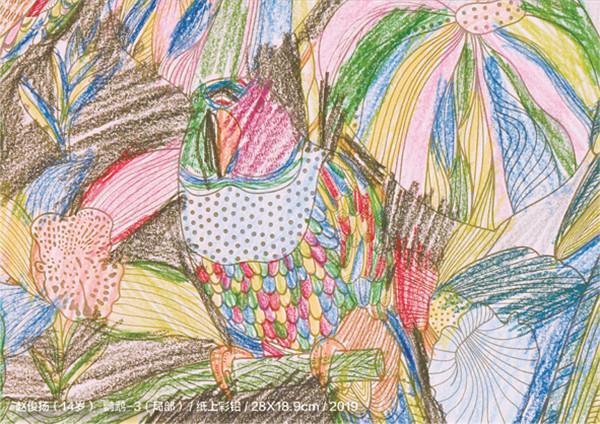 """让艺术与爱同行:""""走进星星的孩子""""自闭症儿童绘画作品图片"""
