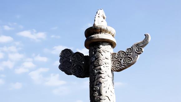天安门前的两根石柱已伫立500多年,在古代可有着不同寻常的作用图片
