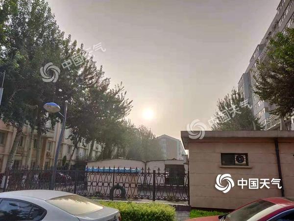 """<b>北京高温高湿体感""""闷蒸""""未来一周闷热持续</b>"""