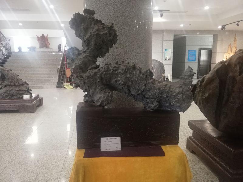 """中国煤城阜新的""""奇石盛宴"""""""