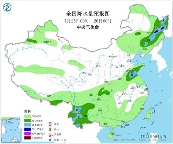 高温蔓延全国超16省市区 西南东北华北等地进入多雨期