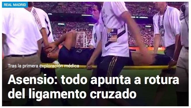 糟了!皇马王储或遭遇左膝十字韧带断裂恐赛季报销