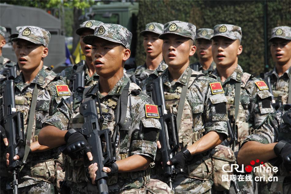 -合作-2019-中新陆军联合训练正式开始