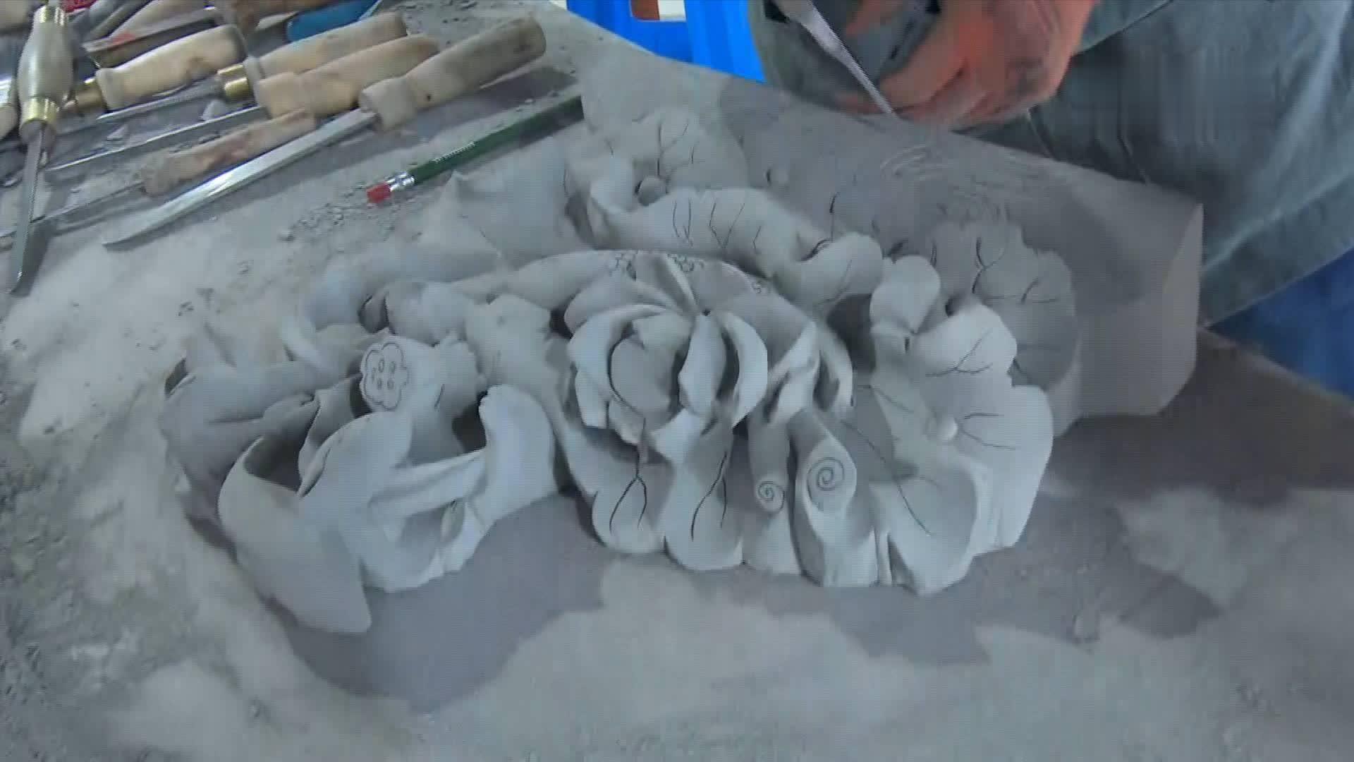 砖雕技艺大赛|临夏砖雕题材多以翎毛花卉为主