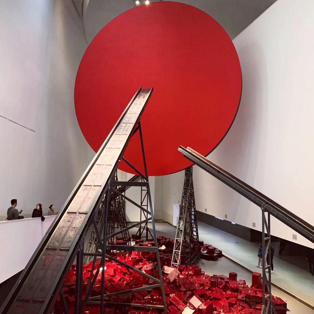 有盐看展团:中央美院——安尼施卡普尔