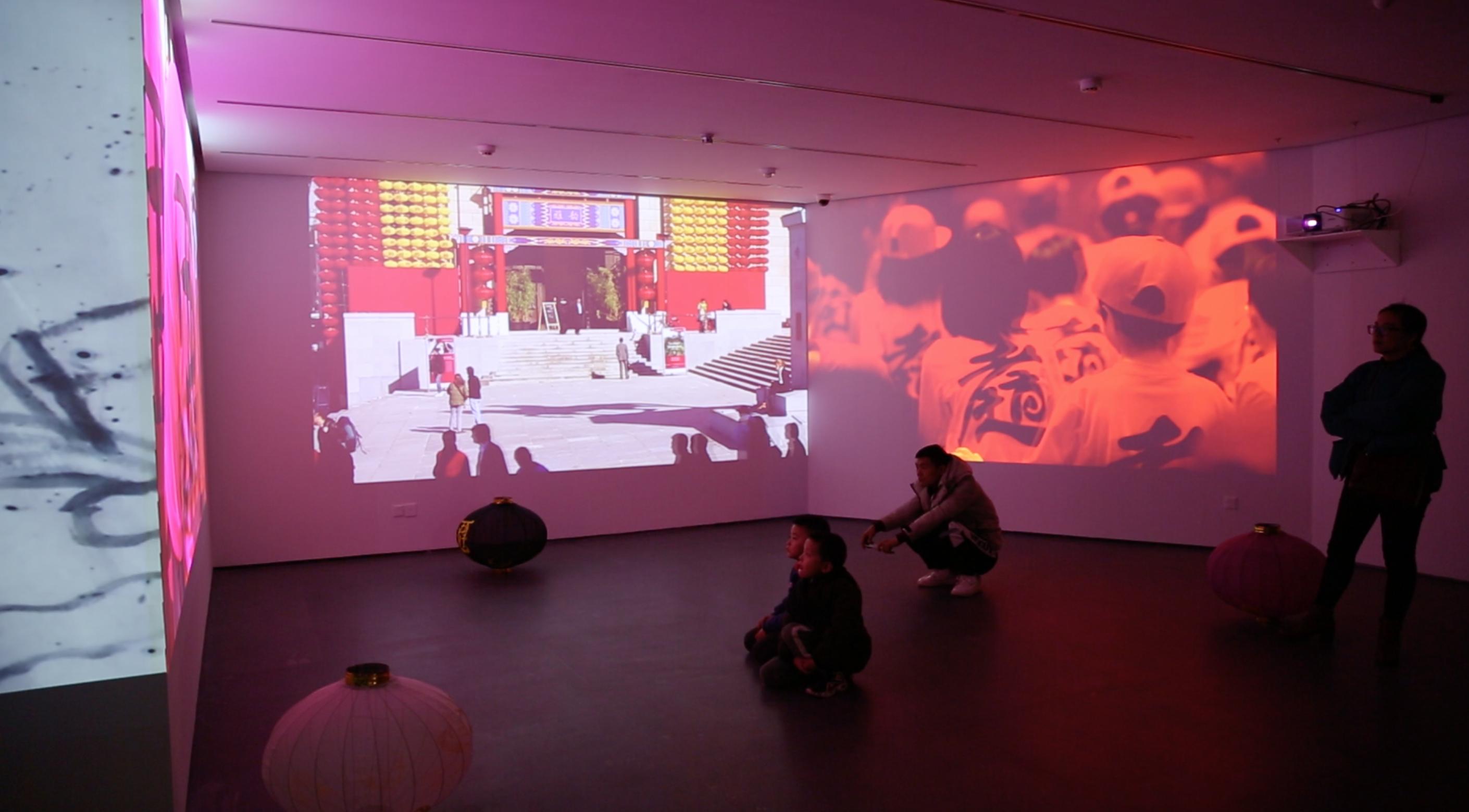 《艺术》谷文达回顾展于武汉开幕