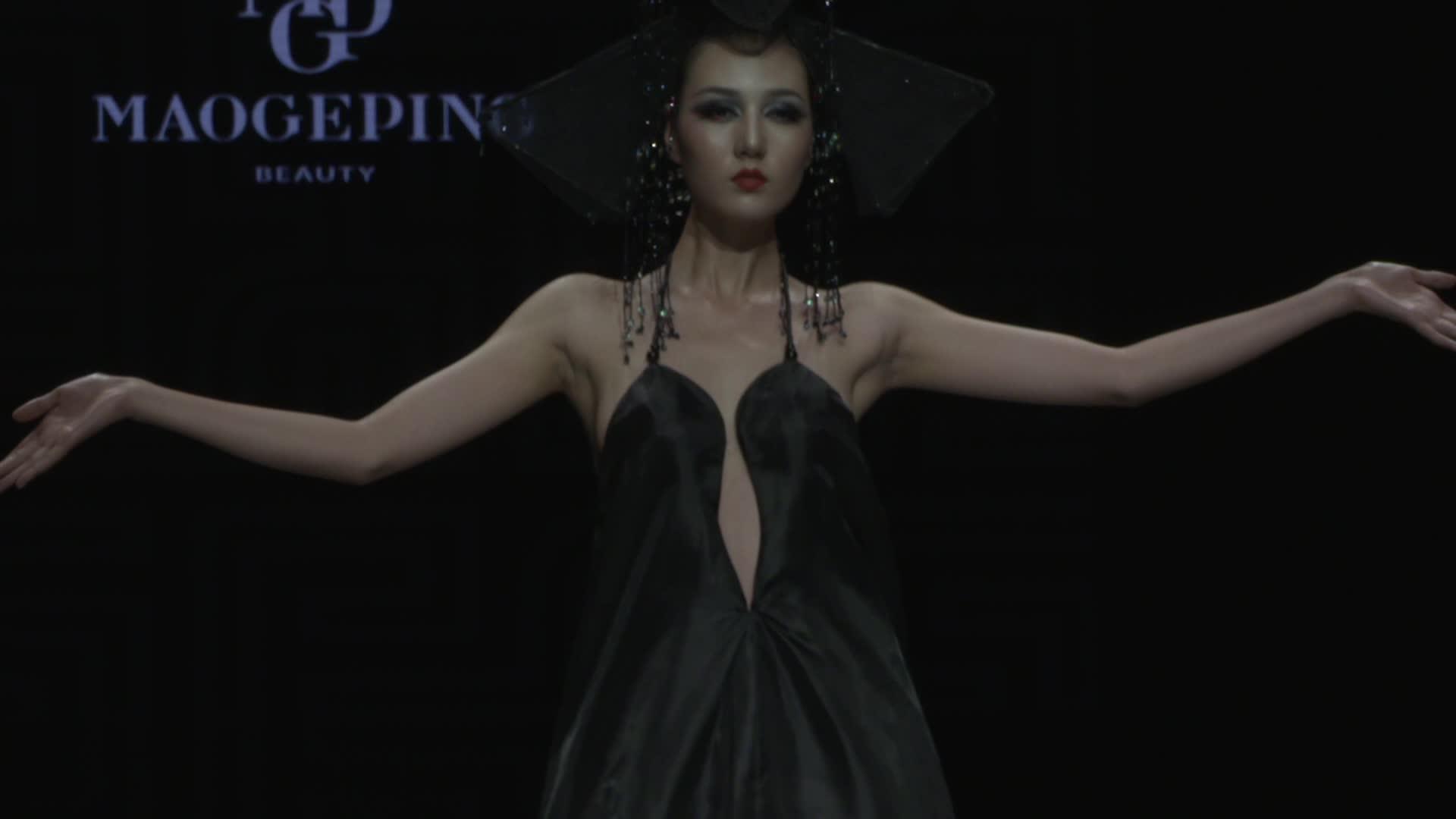 毛戈平彩妆造型发布