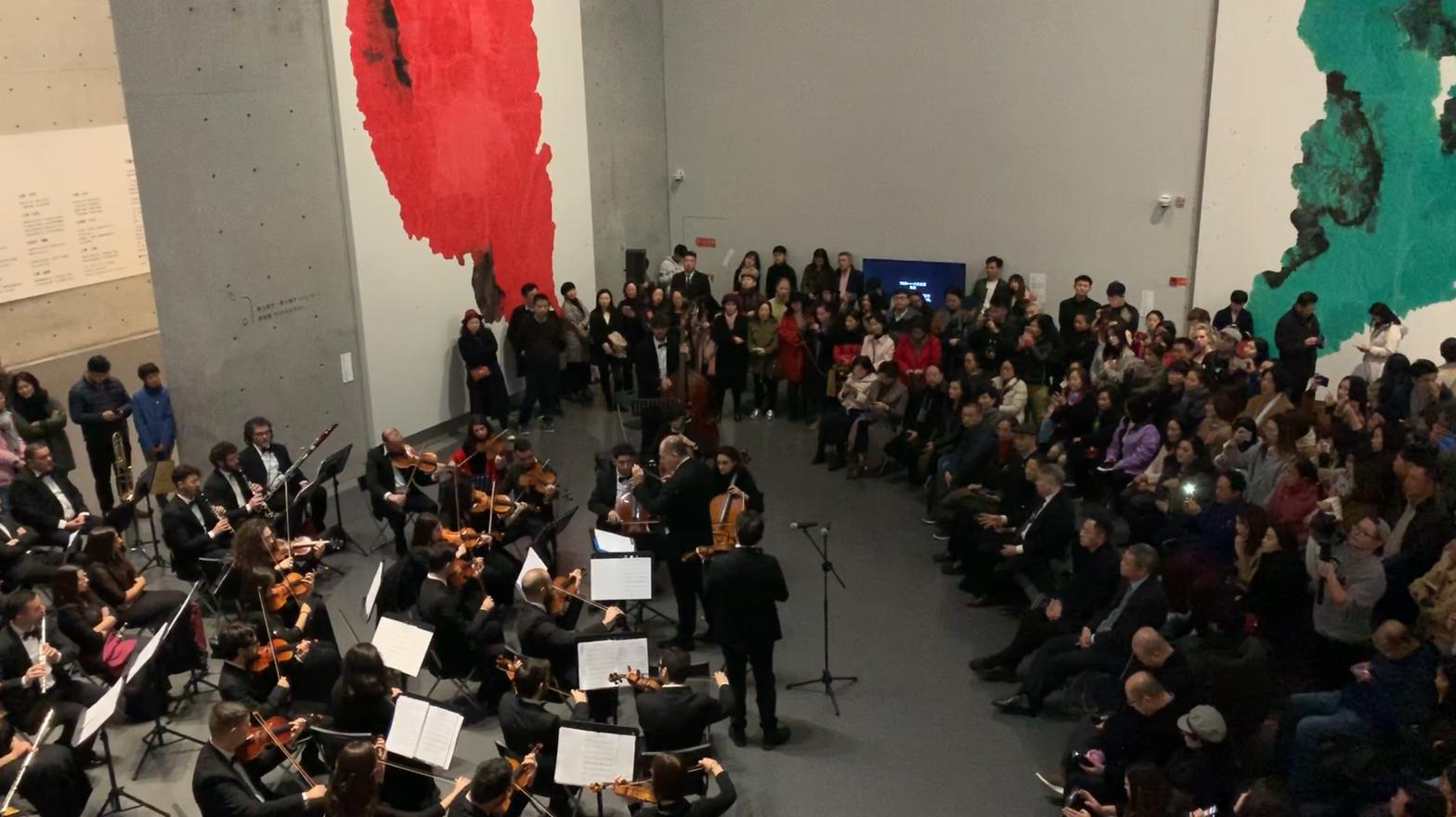 当东方抽象绘画邂逅意大利西西里爱乐乐团