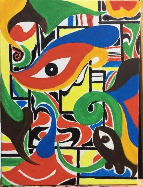 心理学:哪幅抽象画更吸引你?测你未来会拥有什么样的人生