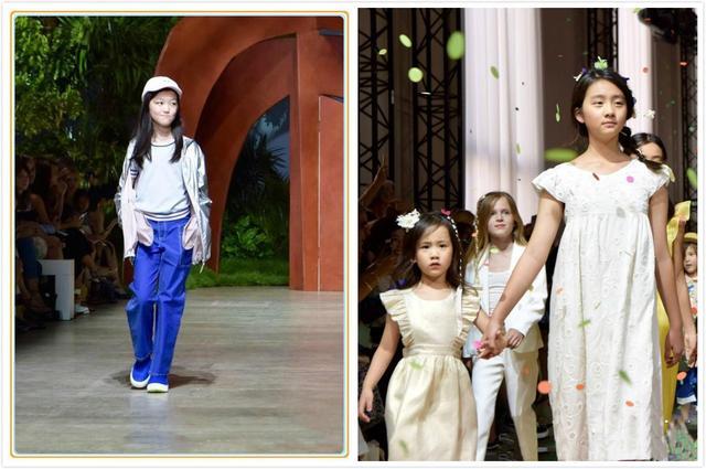 五次受邀看秀,并获阿玛尼亲自设计衣服,这个小女孩比李嫣还拉风
