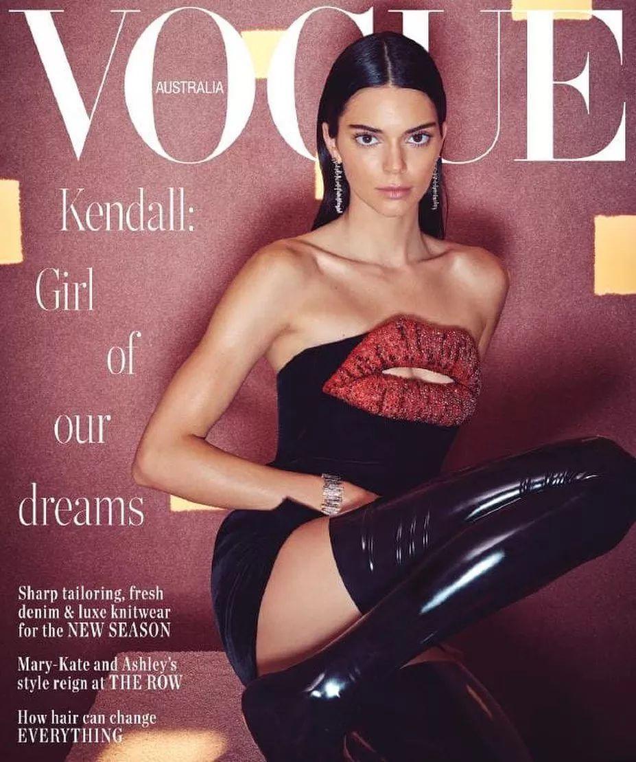 跟超模比不够水平,跟明星比没有资本,Kendall的格局还蛮尴尬的!